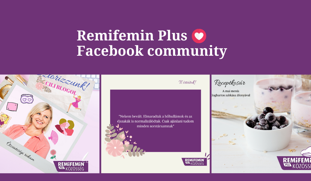 Facebook Page for Remifemin Plus