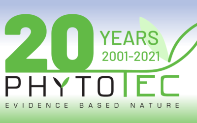 Phytotec has grown up  –  we celebrate our 20th birthday!